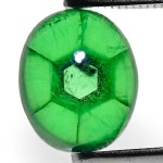 1.70-Carat Intense Green Trapiche Emerald from Colombia