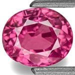 0.90-Carat Lively Pinkish Red Eye-Clean Burmese Ruby (Unheated)