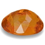1.16-Carat Splendid Fiery Orange Clinohumite from Tajikistan