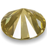 0.74-Carat Fancy Brownish Yellowish Green Diamond from Guinea