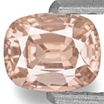 0.78-Carat Light Pinkish Orange Unheated Padparadscha Sapphire