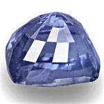 5.10-Carat Lively Intense Blue Unheated Cushion-Cut Sapphire