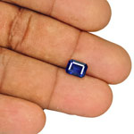 2.75-Carat GRS-Certified Unheated Intense Royal Blue Sapphire