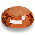 4.14-Carat Unique Oval-Cut Intense Brownish Orange Burma Spinel
