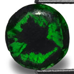 1.58-Carat Dark Green Trapiche Emerald from Colombia