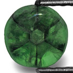 1.06-Carat Natural & Untreated Trapiche Emerald from Colombia