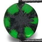0.49-Carat Beautiful Royal Green Trapiche Emerald from Colombia