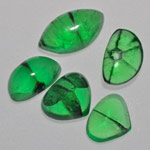 7.48-Carat 5-Pc Lot of Free-Form Colombian Trapiche Emeralds