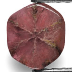 1.68-Carat Natural & Untreated Trapiche Ruby from Mogok, Burma
