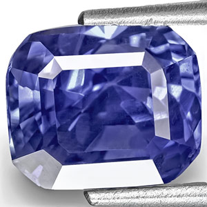 5.07-Carat Unheated Eye-Clean Cornflower Blue Sapphire (IGI)