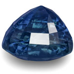 13.54-Carat Unheated Royal Blue Sapphire from Sri Lanka (GRS)