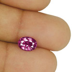 2.36-Carat Unheated Rich Purple Pink Sapphire from Madagascar