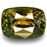 1.95-Carat Cushion-Cut Alexandrite with Strong 100% Color-Change