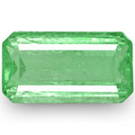 7.80-Carat Lively Light Green Emerald from Muzo Mines, Colombia