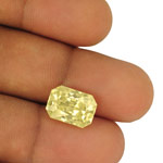 7.81-Carat Lovely Lustrous Yellow Sapphire from Sri Lanka (GIA)