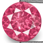 0.73-Carat 5.50mm Round Eye-Clean Hot Pink Mahenge Spinel