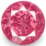 1.25-Carat Pair of 7mm Round VS-Clarity Hot Pink Mahenge Spinels