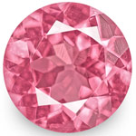 1.17-Carat Pair of 5mm Round Bright Pink Spinels from Tanzania