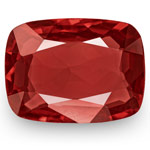 2.92-Carat Flawless Deep Orangy Red Spinel from Tanzania (IGI)
