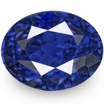 1.73-Carat IGI-Certified Unheated Eye-Clean Royal Blue Sapphire