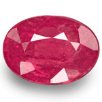 2.01-Carat Unheated Oval-Cut Ruby from Jagdalek, Afghanistan