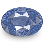 4.34-Carat IGI-Certified Unheated Deep Blue Sapphire from Burma