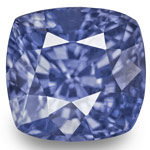 5.00-Carat GIA-Certified Unheated Lustrous Intense Blue Sapphire