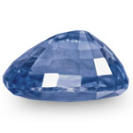 3.54-Carat Eye-Clean Velvety Cornflower Blue Sapphire (Unheated)
