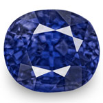 3.05-Carat Eye-Clean Unheated Lustrous Royal Blue Sapphire (GRS)