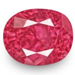 1.04-Carat Unheated Fiery Vivid Pinkish Red Mozambique Ruby