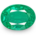 8.17-Carat Exquisite Oval-Cut Lively Green Emerald from Zambia