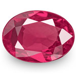 0.72-Carat IGI-Certified Unheated Pinkish Red Mozambique Ruby