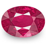 0.84-Carat Unheated VS-Clarity Deep Pinkish Red Ruby (IGI)