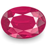 0.69-Carat Rare VVS-Clarity Unheated Pinkish Red Mozambique Ruby