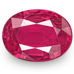 0.86-Carat Unheated Eye-Clean Lively Pinkish Red Ruby (IGI)