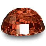 2.72-Carat Flawless Deep Brownish Orangish Red Spinel from Burma