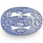 4.11-Carat IGI-Certified Unheated Blue Sapphire from Burma