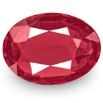 0.70-Carat VVS-Clarity Intense Reddish Pink Spinel from Burma