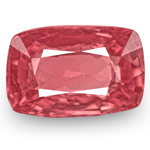1.02-Carat Cushion-Cut Orangy Pink Spinel from Mogok, Burma