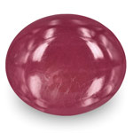 12.19-Carat Unheated Deep Pinkish Red Ruby from Karur, India