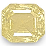 7.44-Carat Unheated Orangy Yellow Sapphire from Sri Lanka (IGI)