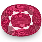 2.07-Carat Unheated Fiery Vivid Pinkish Red Ruby from Mozambique
