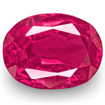 1.69-Carat IGI-Certified Unheated Vivid Pink Red Ruby from Burma