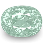 1.81-Carat IGI-Certified Neon Light Blue Oval Paraiba Tourmaline
