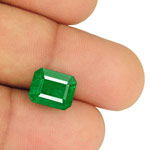5.29-Carat Magnificent Rich Royal Green Emerald from Zambia