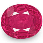 1.67-Carat Natural & Unheated Pinkish Red Ruby from Mozambique