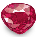 1.00-Carat Natural & Unheated Rich Pinkish Red Heart-Shaped Ruby