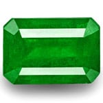 3.86-Carat Attractive Eye-Clean Rich Green Emerald from Colombia
