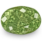 2.04-Carat Lively Yellowish Green Alexandrite from India (IGI)