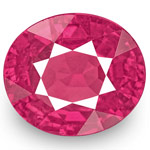 1.25-Carat Unheated VS-Clarity Lively Pinkish Red Ruby (IGI)